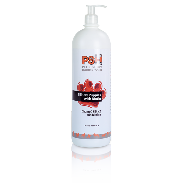 PSH Silk - X2 mit BIOTIN - Welpenshampoo