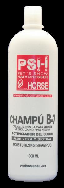 PSH Shampoo B7 Aloe + Biotina Schwarz