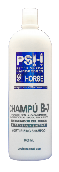 PSH Shampoo B7 Aloe + Biotina Weiß